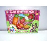 Набор фруктов и овощей, Играем вместе