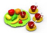 Набор фруктов и чайной посуды «волшебная хозяюшка», Нордпласт