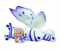 """9"""" детки-бабочки (бело-сиреневые), Unimax"""