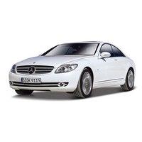 """Модель автомобиля """"street fire mercedes-benz cl-550"""", Bburago (Ббураго)"""