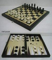 Игра 3 в 1 (шахматы, шашки, нарды), Toy&Gift