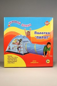"""Палатка детская """"пират"""", Игровой домик"""