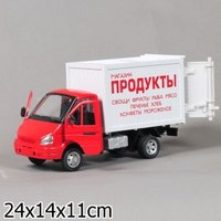 Газель фургон «продукты», Технопарк