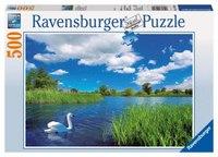 """Пазл """"лебединое озеро"""" (500 элементов), Ravensburger"""