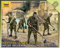 """Набор """"советские саперы 1941-1942"""", Звезда"""