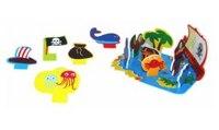 """Развивающая игра для ванной """"остров сокровищ"""", Meadow kids"""