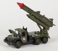 """Металлическая машина """"зил 131 ракета вооруженные силы"""", Технопарк"""