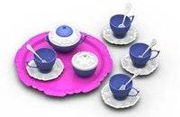 """Чайный сервиз """"волшебная хозяюшка"""" (15 предметов на подносе), Нордпласт"""