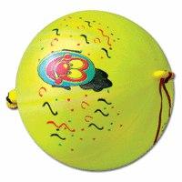 """Комплект воздушных шаров """"панч-болл"""", 50 штук, 12 неоновых цветов, 8 рисунков, Веселая Затея"""