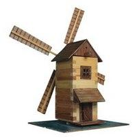 """Деревянный конструктор """"ветряная мельница"""", 137 деталей, Walachia"""
