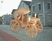 """Модель деревянная сборная """"автомобиль роллинг"""", VGA (Wooden Toys)"""