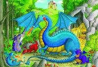 "Пазл ""драконий детский сад"" (24 элемента), Ravensburger"