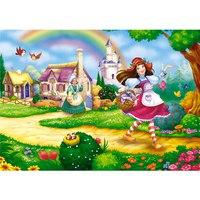 """Пазлы """"волшебный мир. красная шапочка на прогулке"""", 35 элементов, Канц-Эксмо (Listoff, Unnika Land)"""