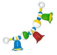 Мини погремушка-подвеска с шариками и колокольчиками, Стеллар