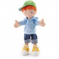 """Мягкая кукла """"мальчик в кепке"""", 30 см, Trudi"""