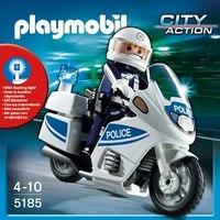 Полицейский мотоцикл, Playmobil (Плэймобил)