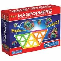 Магнитный конструктор «супер», 30 элементов, Magformers