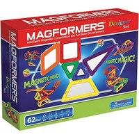 Магнитный конструктор «дизайнер», 62 детали, Magformers