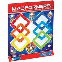 Магнитный конструктор «квадраты», 6 деталей, Magformers