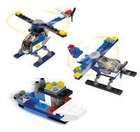 """Конструктор 3 в 1 """"самолет, вертолет, катер"""", SuperBlock"""