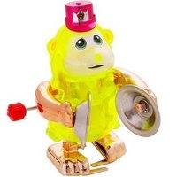 """Заводная игрушка """"обезьянка с музыкальными тарелками кларенс"""", Z-WIND UPS"""