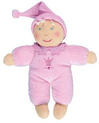 """Плюшевая кукла """"baby glück"""", розовая, Spiegelburg"""