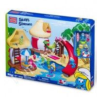 """Набор """"смурфики на пляже"""", Mega Brands (Mega Bloks)"""