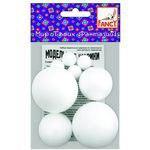 Набор шариков для творчества, 8 шариков, Fancy Creative