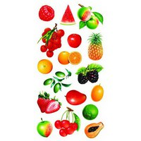 "Набор наклеек ""фруктовый рай"", Fancy Creative"