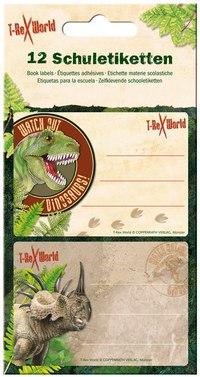 "Наклейки для тетради ""t-rex"", Spiegelburg"