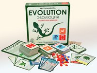 """Настольная игра """"эволюция. подарочный набор. 3 выпуска игры + 18 новых карт"""", Правильные игры"""