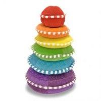 "Мягкая игрушка-пирамидка ""радуга"", Melissa & Doug"