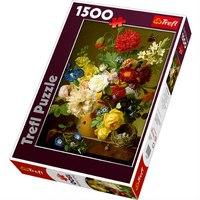 "Пазл ""натюрморт с цветами"", 1500 элементов, Trefl"