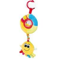 """Мягкая игрушка-подвеска с погремушкой и пищалкой """"цветной океан"""", Canpol"""