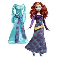 """Кукла """"disney принцесса - мерида с дополнительным платьем"""", Mattel (Маттел)"""