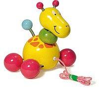 "Каталка-игрушка ""жираф"", 12 см, Vilac"
