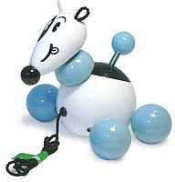 "Каталка-игрушка ""щенок боби"", 12 см, Vilac"