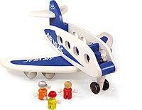 Большой самолет+4 пассажира, 26 см, Vilac