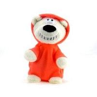 """Интерактивная игрушка """"dj медведь"""", красный, Woody O'Time"""