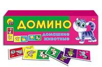 Настольная игра «домино. домашние животные», Проф-Пресс