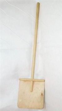 Лопата детская для снега, средняя, Деревянные игрушки - Владимир