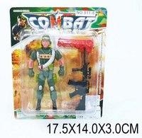 """Набор игровой """"солдат с оружием и парашютом"""", Shantou Gepai"""