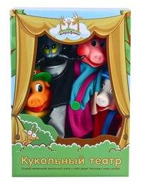 """Кукольный театр """"три поросёнка"""", Жирафики"""