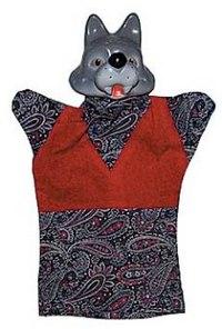 """Кукла-перчатка """"волк"""", Русский стиль"""