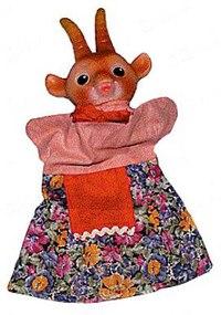 """Кукла-перчатка """"коза"""", Русский стиль"""
