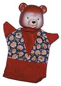 """Кукла-перчатка """"медведь"""", Русский стиль"""