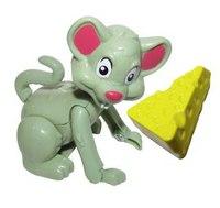 Мышонок с сыром, Жирафики