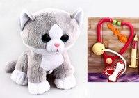 """Мягкая игрушка """"маленький доктор кот"""", Fluffy Family"""