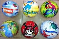 Мяч детский латексный, 23 см, Shantou Gepai