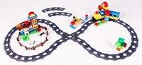 """Железная дорога """"-конструктор"""", длина пути 449 см, Голубая стрела"""